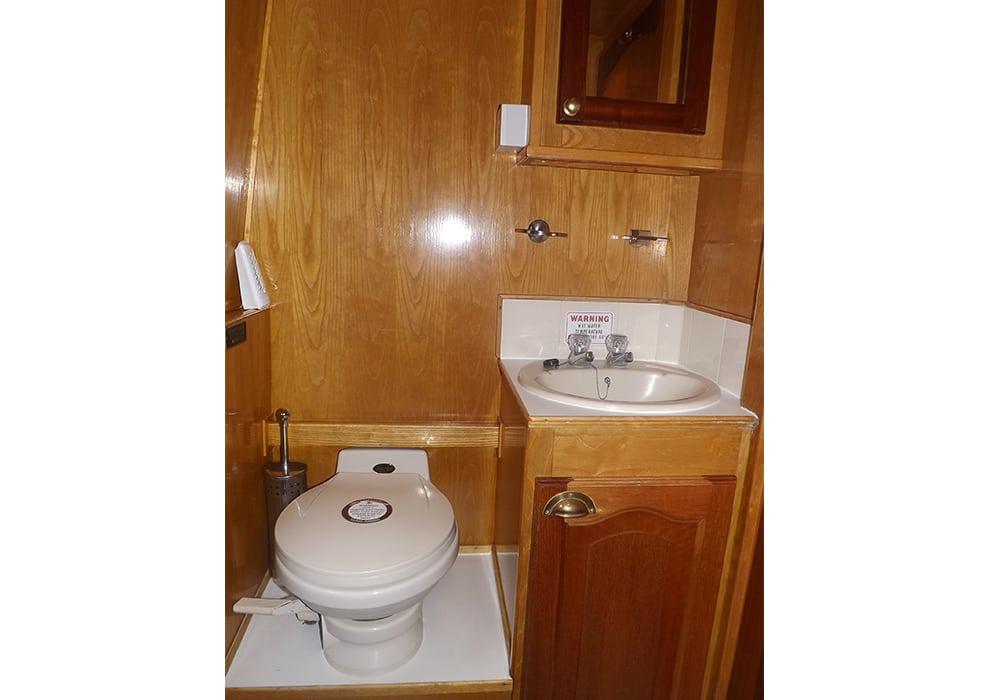 Foxglove boat page bathroom white