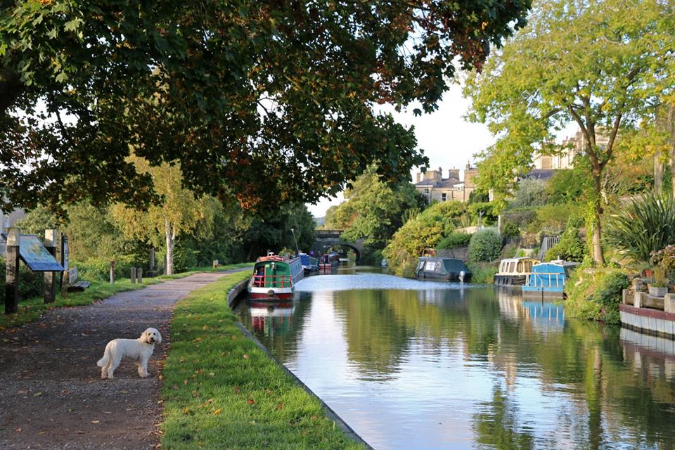 Narrowboat hire holidays to Bath City Centre