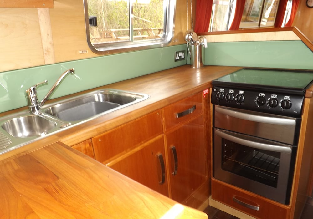 Interior Narrowboat barge holidays with Foxhangers Canal Holidays