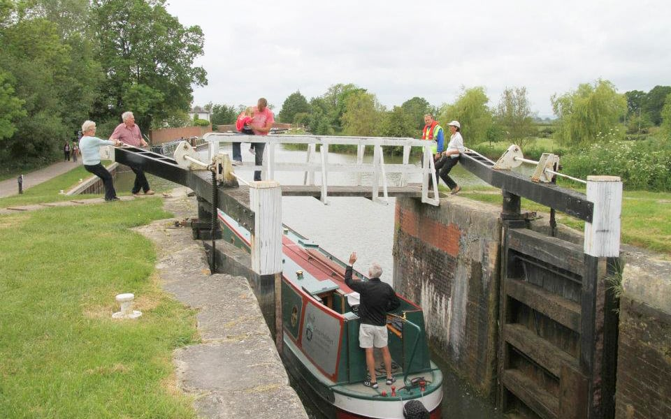Canal Boating image locks