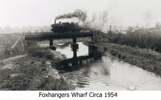Foxhangers Wharf Circa 1954