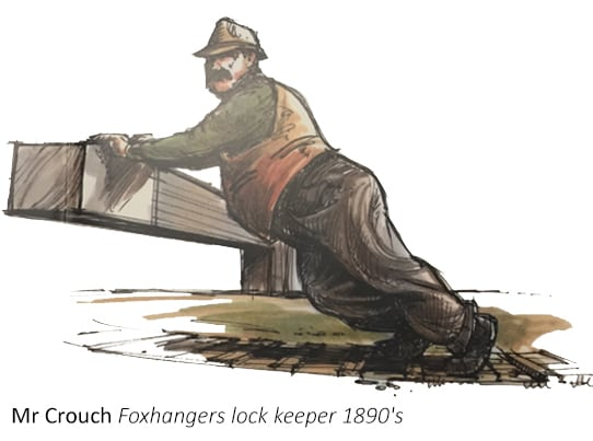 mr Crouch Foxhangers 1890