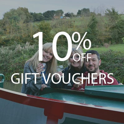 gift vouchers narrow boat holidays