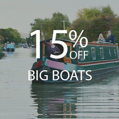15% OFF Big Boats