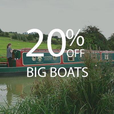 20% OFF Big Boats
