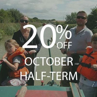 20% OFF october half term