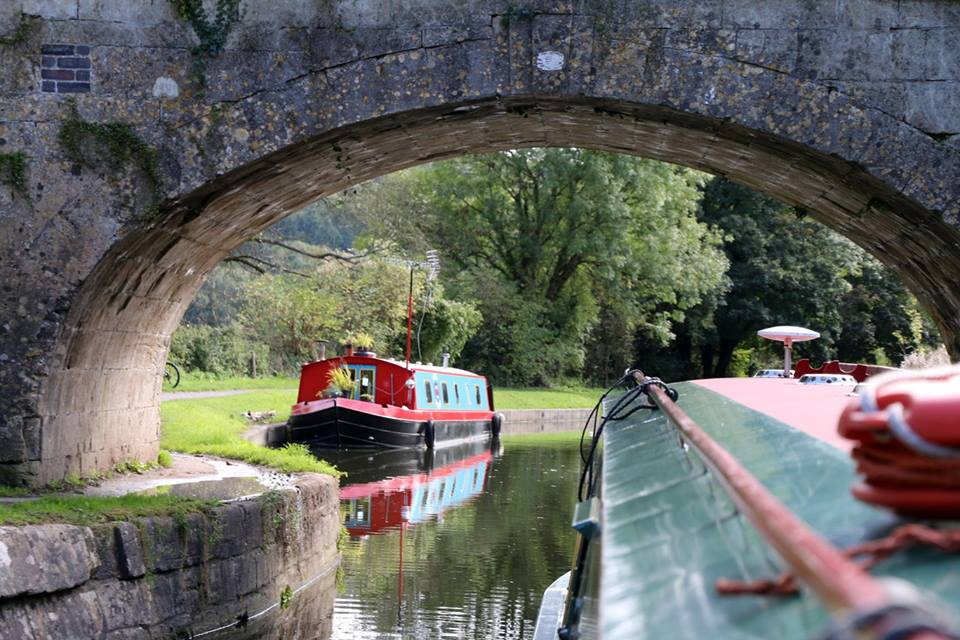Narrowboat on K&A Canal Holiday