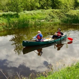 Things to do along the canal - Canoeing