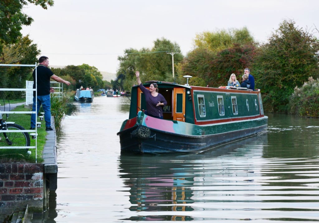 canal boating Group Boating