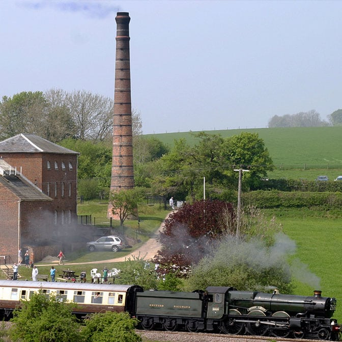 Worlds Oldest Beam Engine on the Kennet and Avon Canal