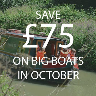 Canal Holiday Offer October
