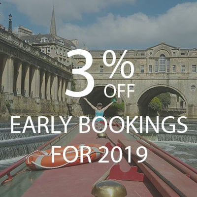 Early Bookings Discount - Book your canal narrowboat break