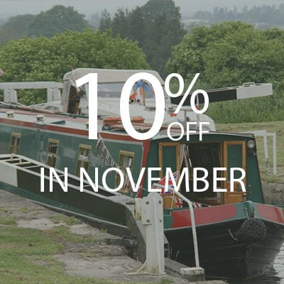 10% OFF November