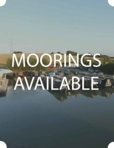 moorings available on the Kennet and Avon