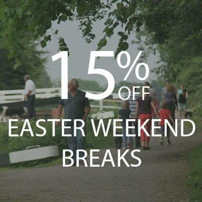 15% OFF Easter Weekend