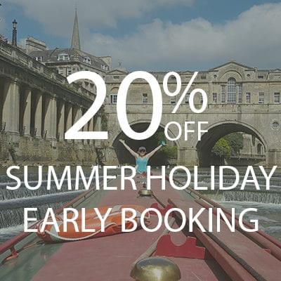20% OFF EARLY BOOKING summer holidays