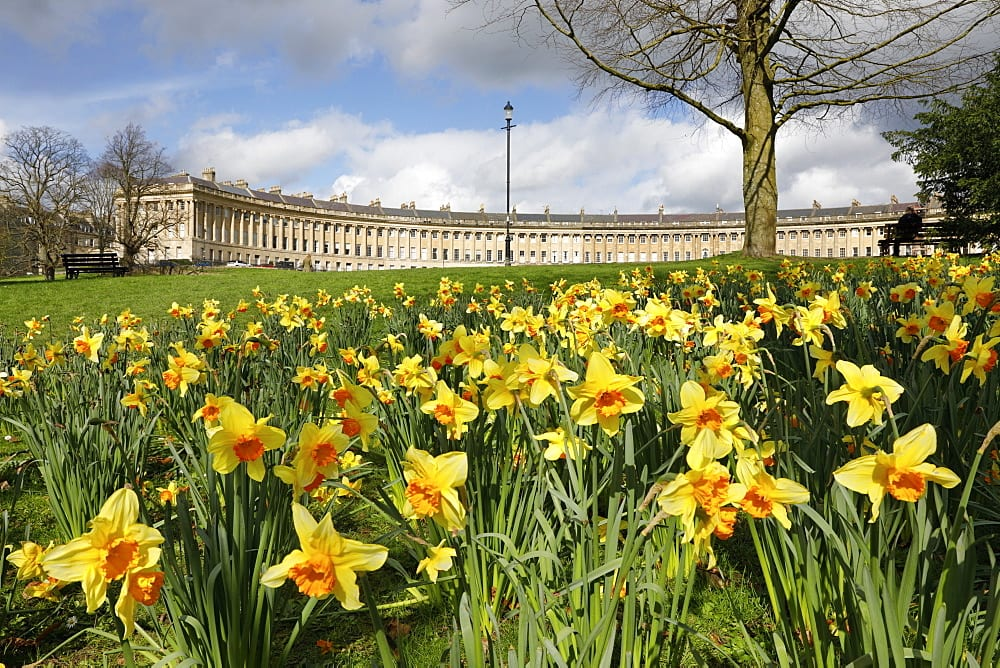 Springtime in Bath