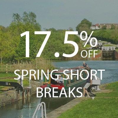17.5% Spring Short Breaks