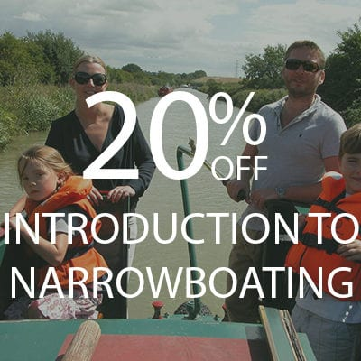 20% OFF INTRO TO NARROWBOATING