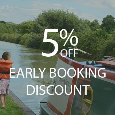 5% EARLY BOOKING