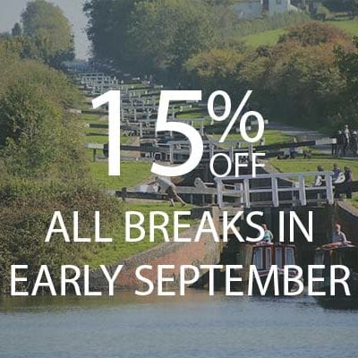 15% OFF EARLY SEPTEMBER