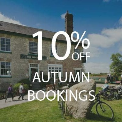 10% Autumn bookings