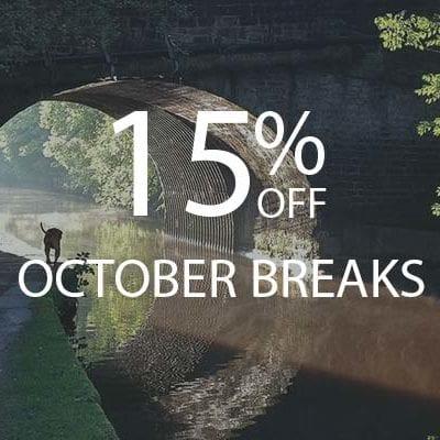 15% OCTOBER BREAKS