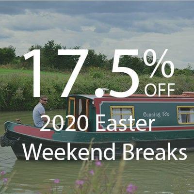 17.5% off 2020 Easter Weekend Breaks