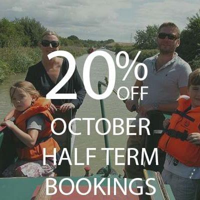 20% October Half Term Bookings