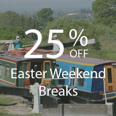 25% OFF EASTER WEEKEND BREAKS