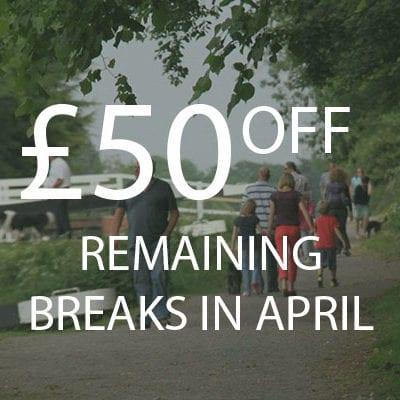 £50 OFF APRIL BREAKS