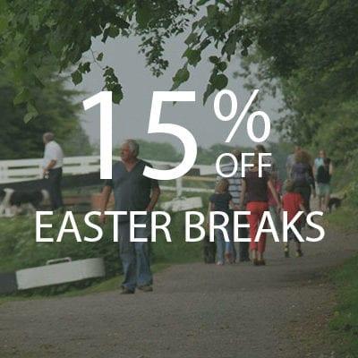 15% OFF Easter Breaks